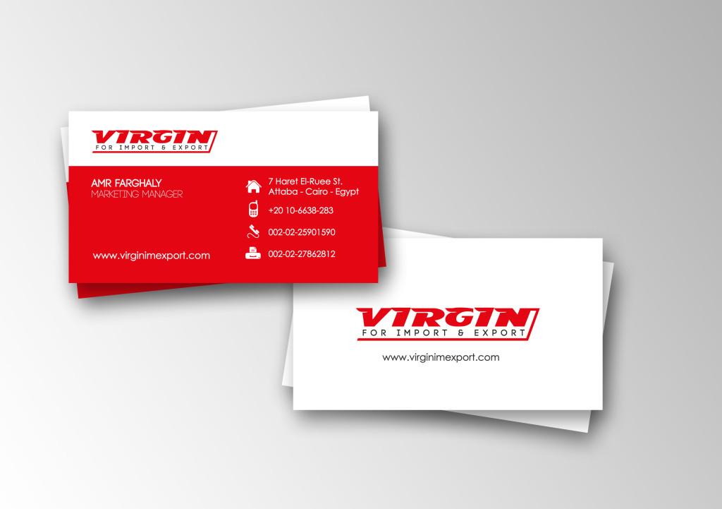 Красные цвет фона визиток