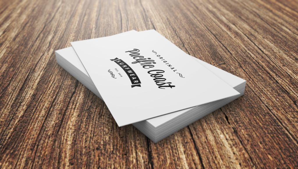 Белый цвет фона визиток