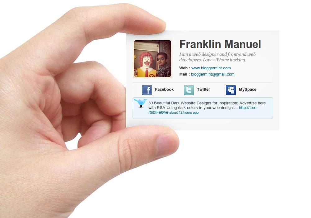 Заготовки и оформление визитных карточек фото 750-264