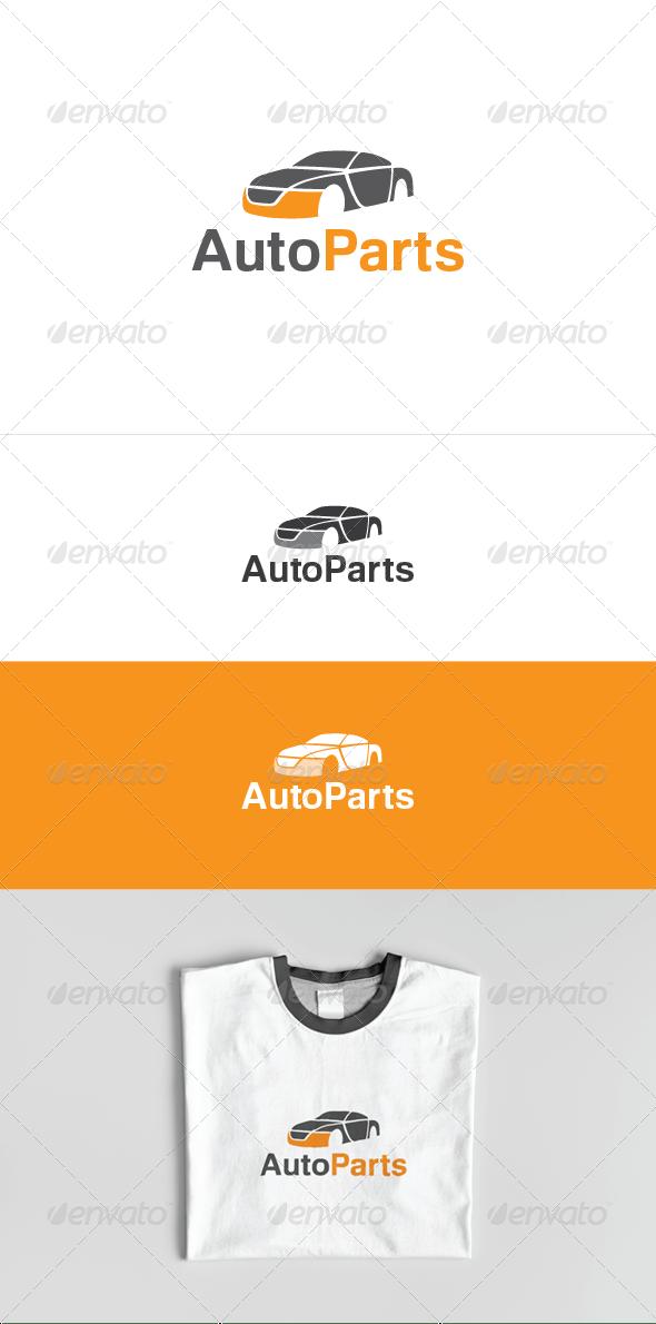 Дизайн логотипа Автомобильных запчастей для визитки