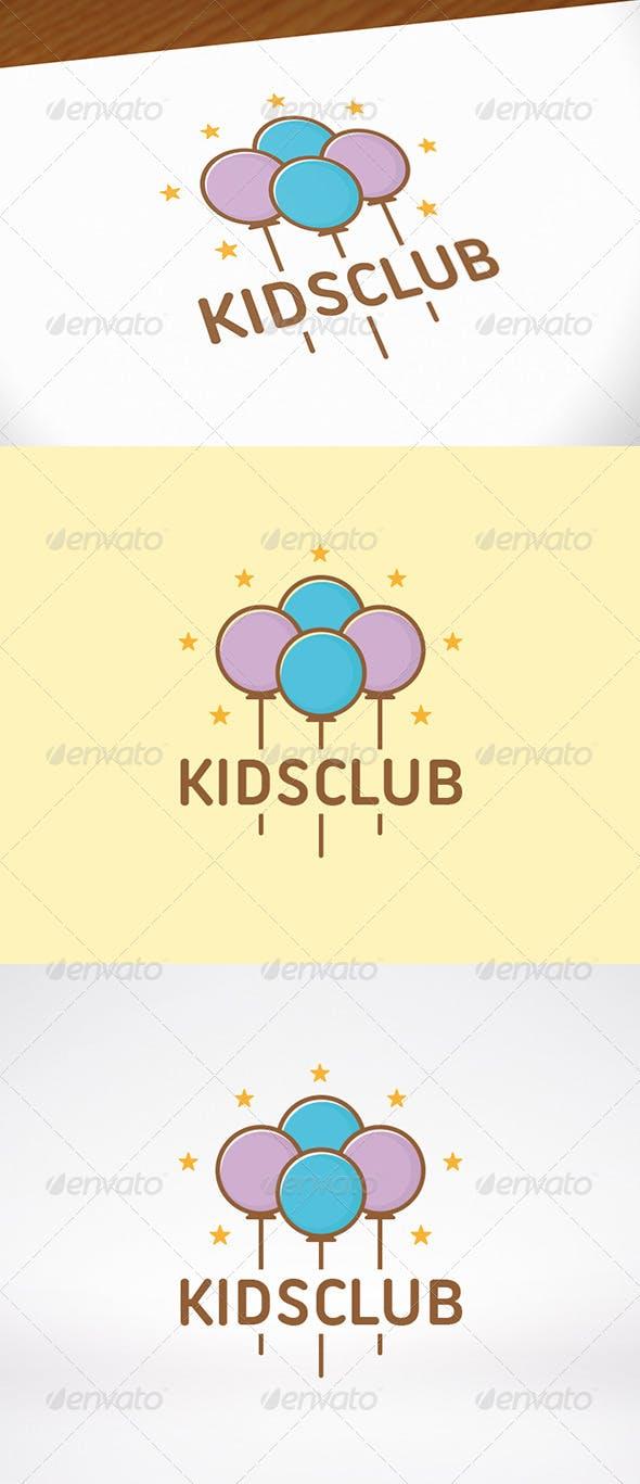 Дизайн логотипа Детские праздники для визитки