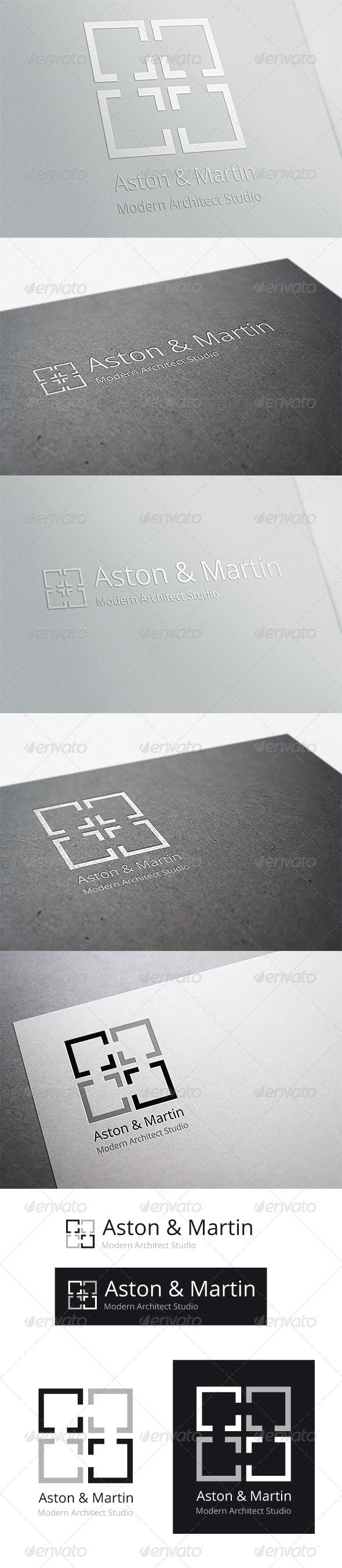 Дизайн логотипа Дизайнера интерьера для визитки