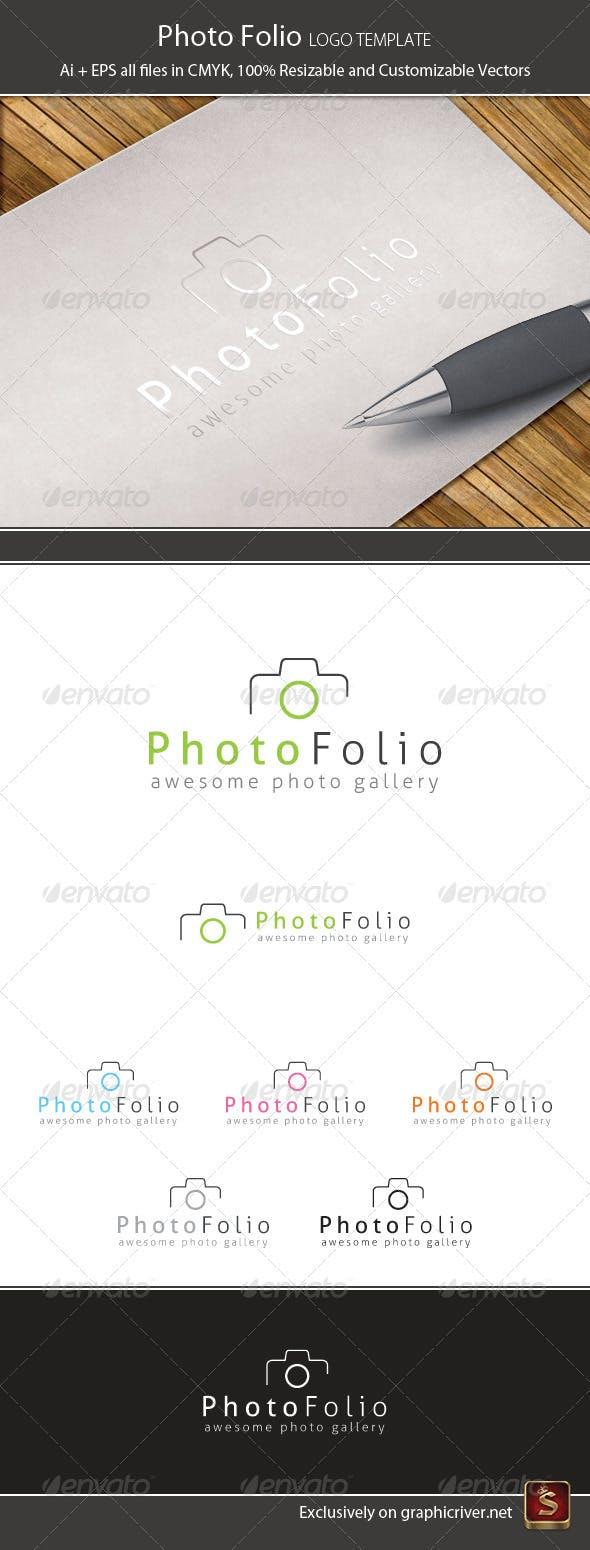 Дизайн логотипа Фотографа дизайнера для визитки