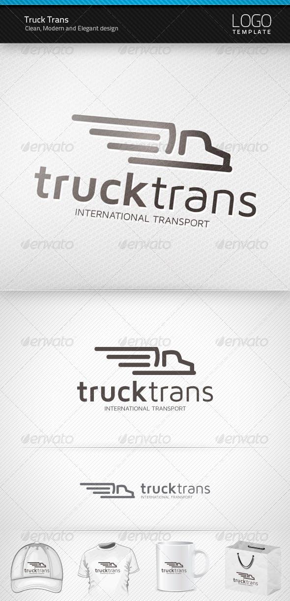 Дизайн логотипа Грузоперевозки для визитки