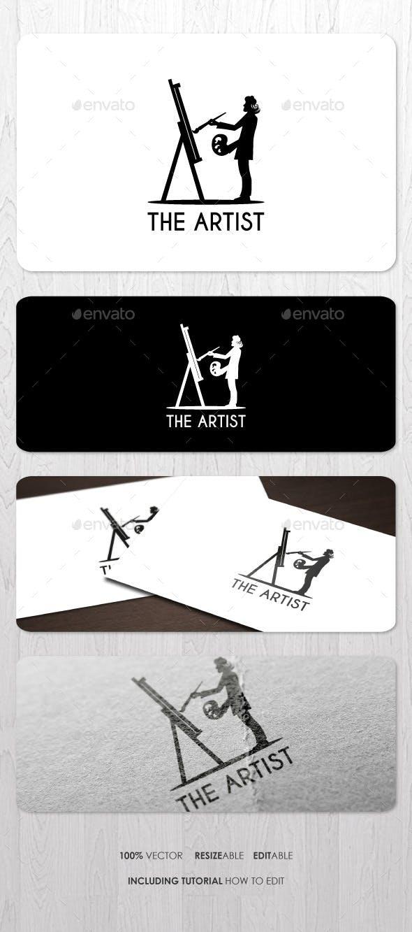 Дизайн логотипа Художника для визитки