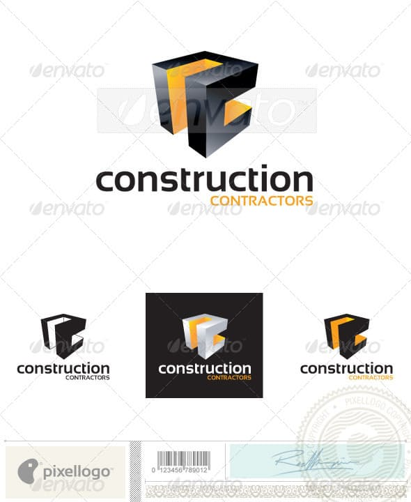 Дизайн логотипа Конструктора для визитки