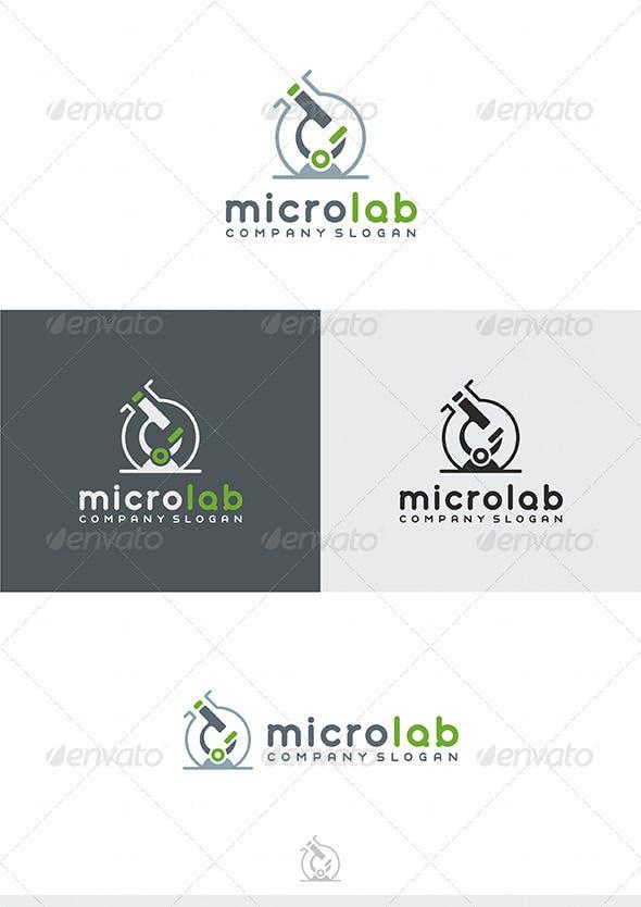 Дизайн логотипа Лаборатории анализов для визитки