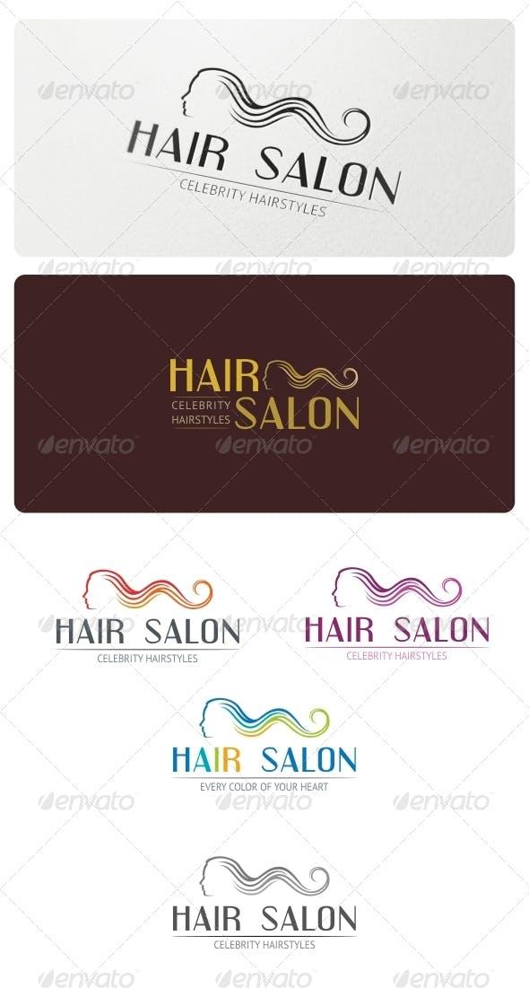 Дизайн логотипа Салона парикмахерской для визитки