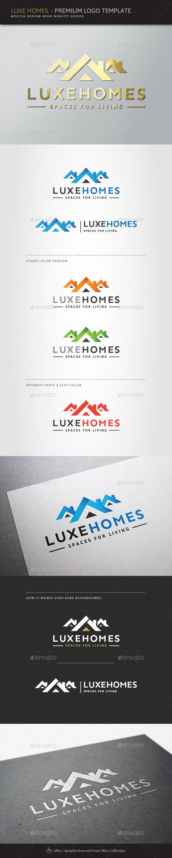 Дизайн логотипа Строительство домов для визитки