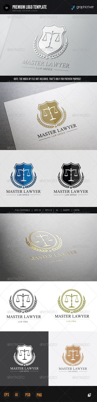 Дизайн логотипа Юридической компании для визитки