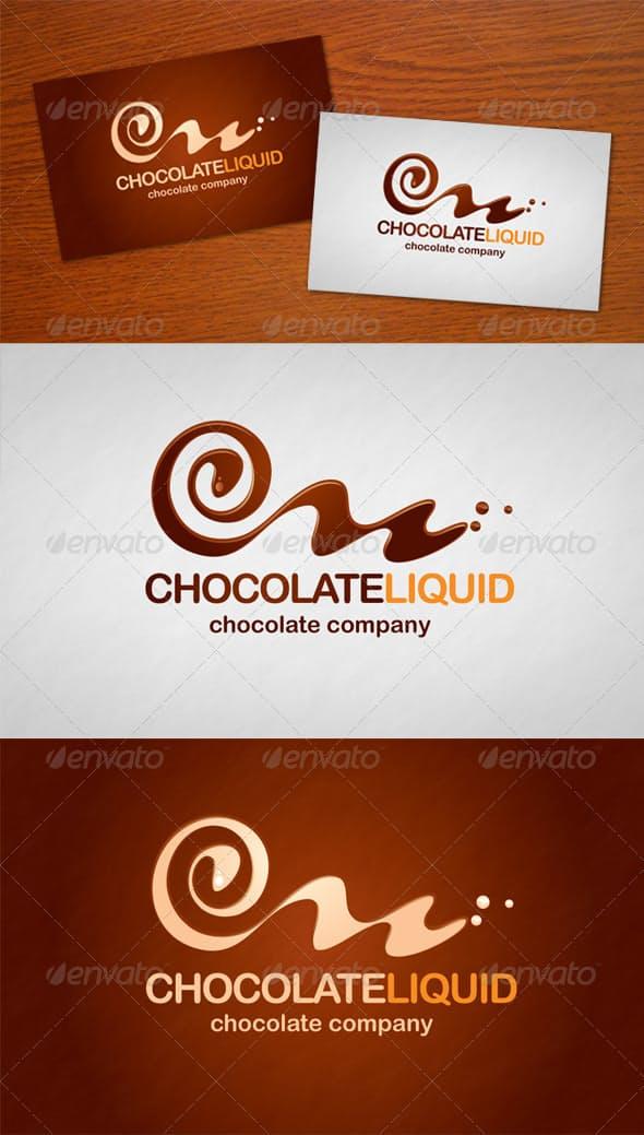 Дизайн логотипа для визитки магазина Шоколоада