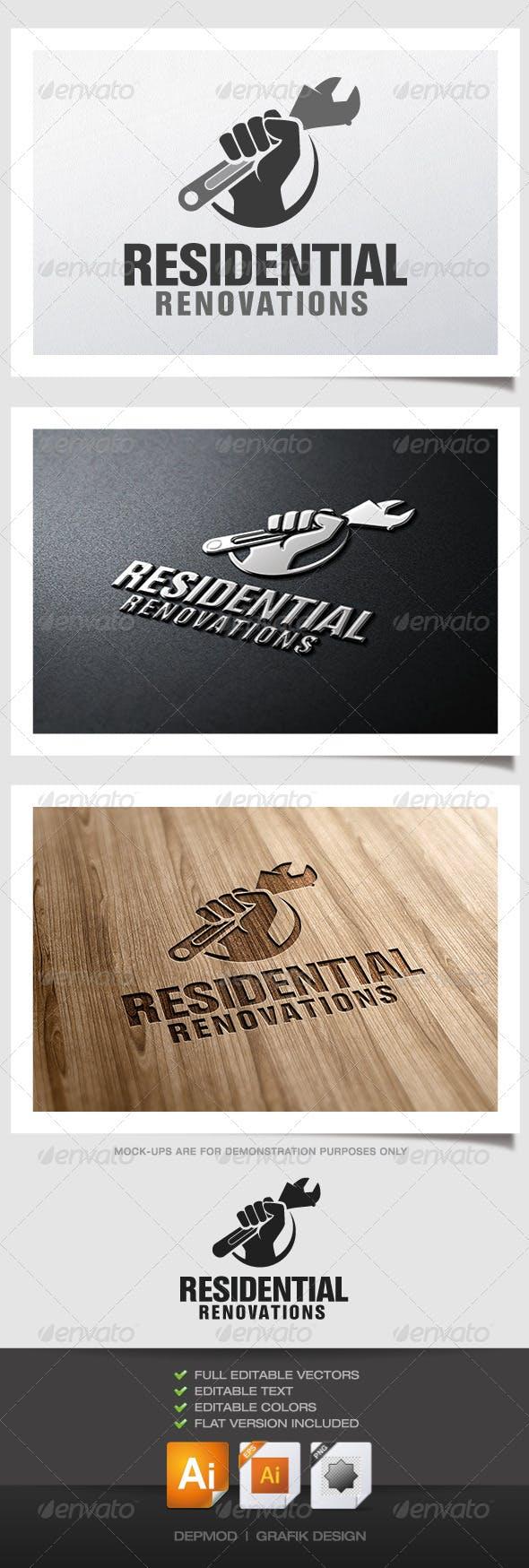 Дизайн логотипа мастера Сантехника для визитки