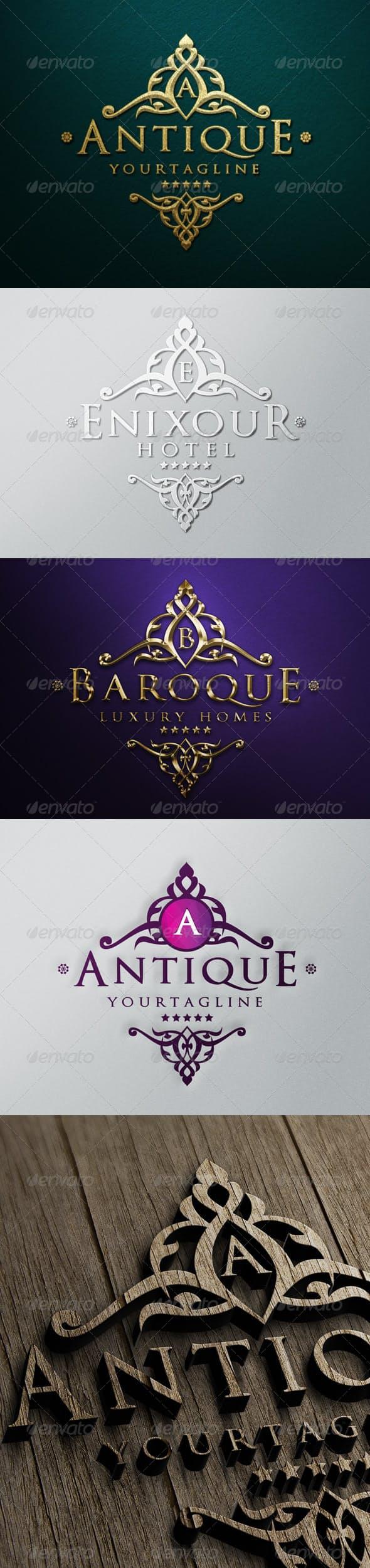 Дизайн логотипа с Кружевами для визитки